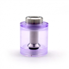 ULTON Replacement PMMA Bell Cap w/Short Chimney for FEV 3/4/4.5 Atomizer 3.5ml - Purple