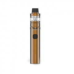Authentic Vaporesso Cascade One Plus 3000mAh Mod + Cascade Baby Tank Kit 5ml/0.18ohm - Gold