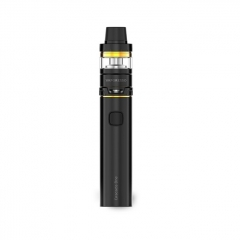 Authentic Vaporesso Cascade One Plus 3000mAh Mod + Cascade Baby Tank Kit 5ml/0.18ohm - Black