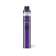 Authentic Vaporesso Cascade One Plus 3000mAh Mod + Cascade Baby Tank Kit 5ml/0.18ohm - Purple