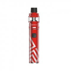 Authentic Vaporesso Cascade One Plus 3000mAh Mod + Cascade Baby SE Tank Kit 6.5ml/0.18ohm - Red
