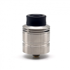 ULTON The 502 Style 25mm RDA Rebuildable Dripping Atomizer w/BF Pin - Silver
