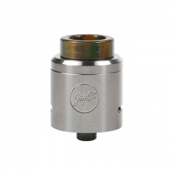 Pre-Sale Authentic Wismec Guillotine V2 24mm RDA Rebuildable Dripping Atomizer w/ Bf Pin - Silver