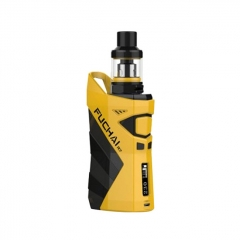 Authentic Sigelei Fuchai R7 230W TC VW APV Box Mod w/T4 Tank 2.5ml Kit - Yellow