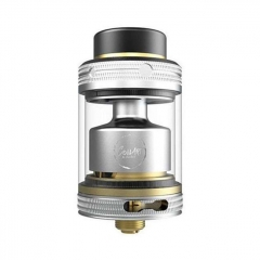 Authentic Coilart Mage V2 24mm RTA Rebuildable Tank Atomizer 3.5ml - Silver