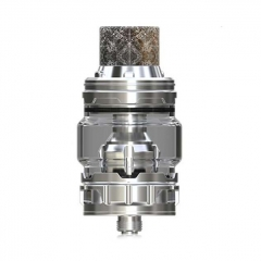Authentic Eleaf ELLO Duro 28mm Sub Ohm Tank Clearomizer 6.5ml - Silver