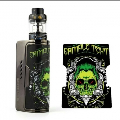 Authentic Dovpo Rogue 100 Plus 100W TC VW Box Mod w/ Fireluke Mini Atomizer 3.0ml Kit (26650 Version) - Green skull
