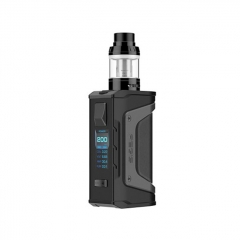 Authentic Aegis Legend 200W TC VW APV Box Mod w/4ml Aero Mesh Atomizer Kit - Stealth Black