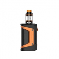 Authentic Aegis Legend 200W TC VW APV Box Mod w/4ml Aero Mesh Atomizer Kit - Black Orange