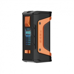 Authentic Aegis Legend 200W TC VW APV Box Mod - Black Orange