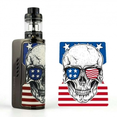 Authentic Dovpo Rogue 100 Plus 100W TC VW Box Mod w/ Fireluke Mini Atomizer 3.0ml Kit (26650 Version) - White skull