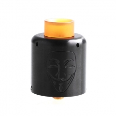 Authentic Timesvape Mask 30mm RDA Rebuildable Dripping Atomizer w/ BF Pin - Black
