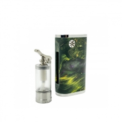 Authentic Asmodus Pumper-18 BF Squonk Box Mod w/7ml Bottle  - Green