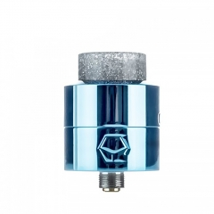 Authentic Ystar Levante 24mm RDA Rebuildable Dripping Atomizer w/BF Pin - Blue