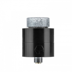 Authentic Ystar Levante 24mm RDA Rebuildable Dripping Atomizer w/BF Pin - Black
