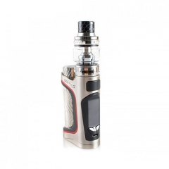 Authentic Eleaf iStick Pico S 100W TC VW Variable Wattage 18650/21700 Box Mod + ELLO VATE Tank Kit- Silver