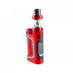 Authentic Eleaf iStick Pico S 100W TC VW Variable Wattage 18650/21700 Box Mod + ELLO VATE Tank Kit - Red