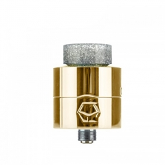 Authentic Ystar Levante 24mm RDA Rebuildable Dripping Atomizer w/BF Pin - Brass