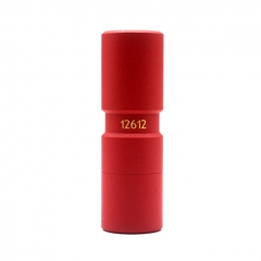 El Th Style Hybrid 18650 26mm Mechanical Mod - Red