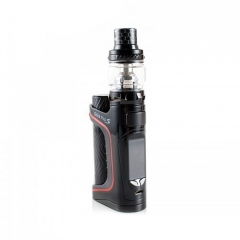 Authentic Eleaf iStick Pico S 100W TC VW Variable Wattage 18650/21700 Box Mod + ELLO VATE Tank Kit - Black