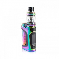 Authentic Eleaf iStick Pico S 100W TC VW Variable Wattage 18650/21700 Box Mod + ELLO VATE Tank Kit - Rainbow
