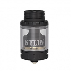 Kylin Mini Style 24.4mm RTA Rebuildable Tank Atomizer 5ml - Black