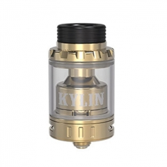 Kylin Mini Style 24.4mm RTA Rebuildable Tank Atomizer 5ml - Gold