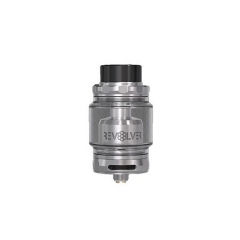 Authentic Vandy Vape Revolver 25mm RTA Rebuildable Tank Atomizer - Silver