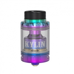 Kylin Mini Style 24.4mm RTA Rebuildable Tank Atomizer 5ml - Rainbow