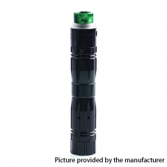 Aftermath V2 24mm Style Mechanical Mod + Redemption Style RDA Kit - Green