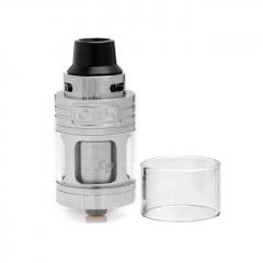 Authentic OBS Engine 25mm RTA Rebuildable Tank Atomizer 5.2ml - Silver