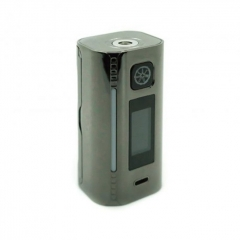 Authentic Asmodus Lustro 200W Touch Screen TC VW Variable Wattage Box Mod - Gun Metal