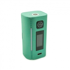 Authentic Asmodus Lustro 200W Touch Screen TC VW Variable Wattage Box Mod - Teal