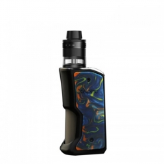 Authentic Aspire Feedlink Squonk Box Mod + Revvo Boost Tank Kit 7ml +2ml - Black+ Night Sky
