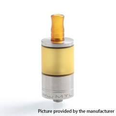 Coppervape Dvarw MTL Style 316SS RTA 22mm Rebuildable Tank Atomizer 5ml - Yellow