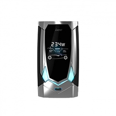 Authentic IJOY Avenger PD270 234W TC VW APV Box Mod - Mirror Silver