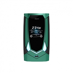 Authentic IJOY Avenger PD270 234W TC VW APV Box Mod - Mirror Green