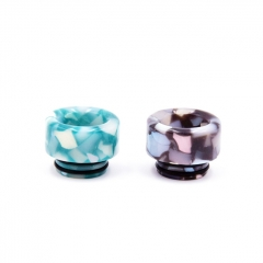 810 Replacement Resin Rainbow Drip Tip 1pc (AS146) - Random Color