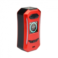 Pre-Sale Authentic Pioneer4You iPV Trantor 200W YiHi SX500A Chip Dual Battery Box Mod - Red Silver
