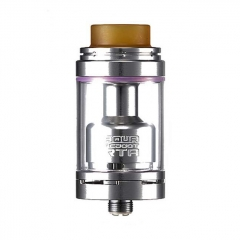 Authentic Footoon Aqua Reboot 24mm RTA Rebuildable Tank Atomizer 4.3ml - Silver