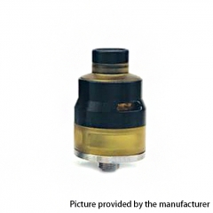 Lysen Vazzling NextEra-LE Style 22mm RDTA Rebuildable Dripping Tank Atomizer w/ BF Pin 2.0ml - Black