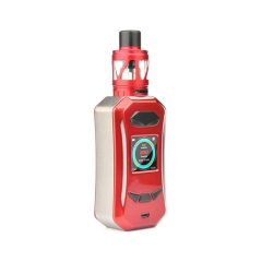 Pre-Sale Authentic Pioneer4You iPV Trantor 200W YiHi SX500A Chip Dual Battery Box Mod w/iPV LXV4 26mm Tank Kit - Red Silver