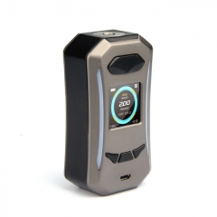 Pre-Sale Authentic Pioneer4You iPV Trantor 200W YiHi SX500A Chip Dual Battery Box Mod - Gun Metal