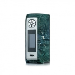 Authentic Asmodus Minikin V2 180W TC VW Variable Wattage Box Mod Kodama Version - Green Silver