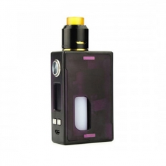 Authentic Nikola Niagara PEI 100W VW Variable Wattage Squonk Box Mod + RDA Kit +6ml Bottle - Purple