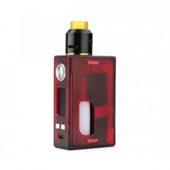 Authentic Nikola Niagara PEI 100W VW Variable Wattage Squonk Box Mod + RDA Kit +6ml Bottle - Red