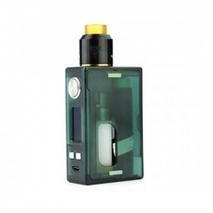 Authentic Nikola Niagara PEI 100W VW Variable Wattage Squonk Box Mod + RDA Kit +6ml Bottle - Green