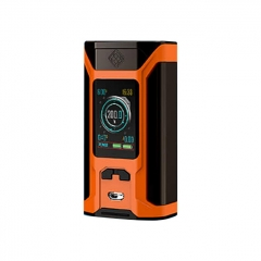 Authentic Wismec Sinuous RAVAGE230 200W TC VW APV Mod  - Gloss Orange