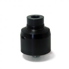 SXK Krma Style 22mm 316SS RDA Rebuildable Dripping Atomizer w/ BF Pin - Black