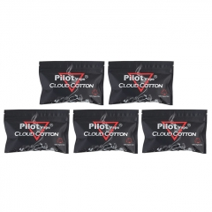 Authentic PilotVape Organic Cotton for RBA Atomizer (5-Pack)